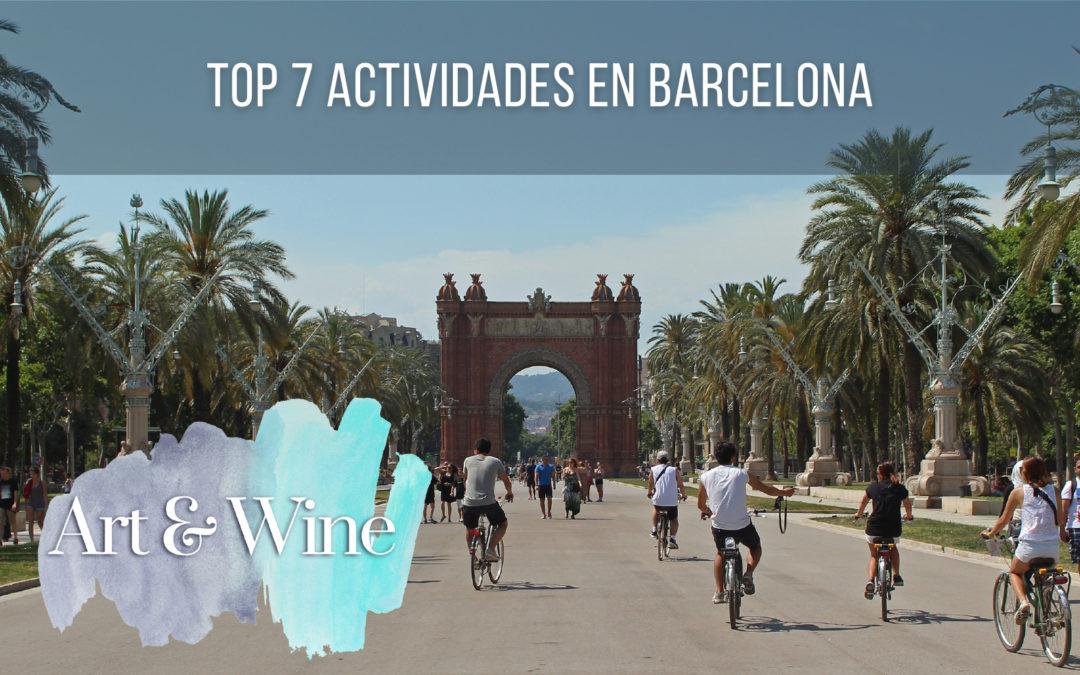 Top 7 Actividades en Barcelona