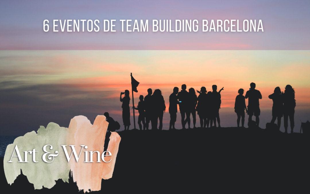 6 eventos de team building Barcelona